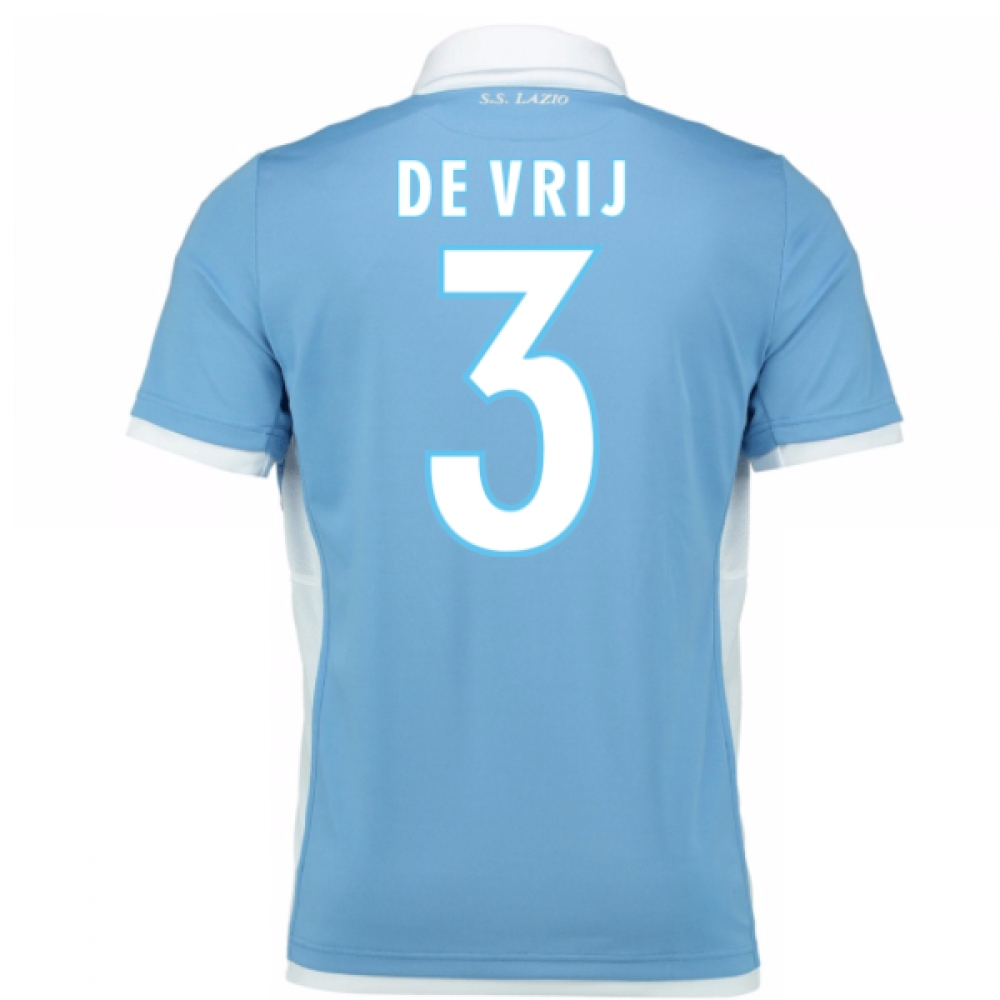2016-17 Lazio Home Shirt (De Vrij 3) - Kids