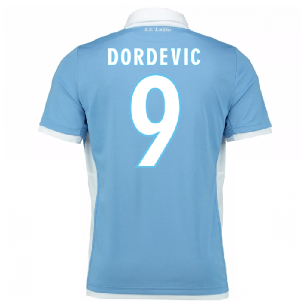 2016-17 Lazio Home Shirt (Dordevic 9) - Kids