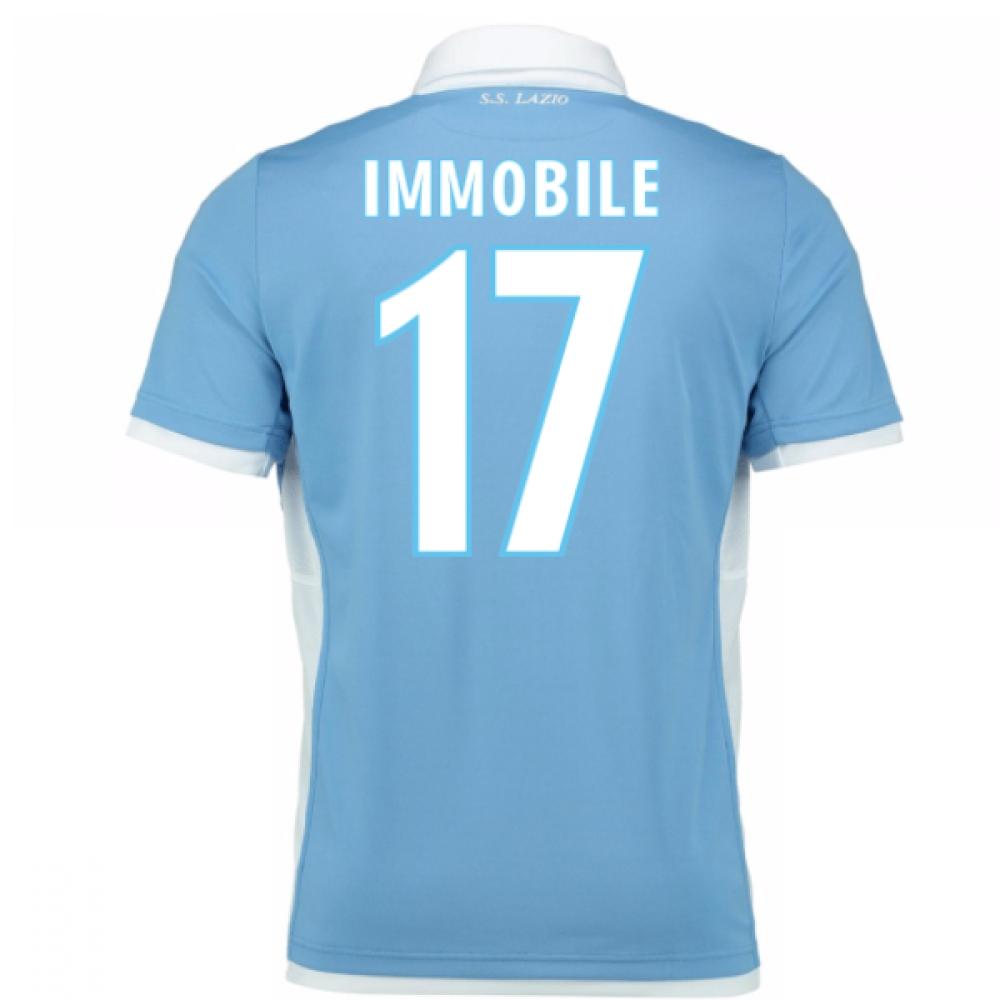 2016-17 Lazio Home Shirt (Immobile 17) - Kids