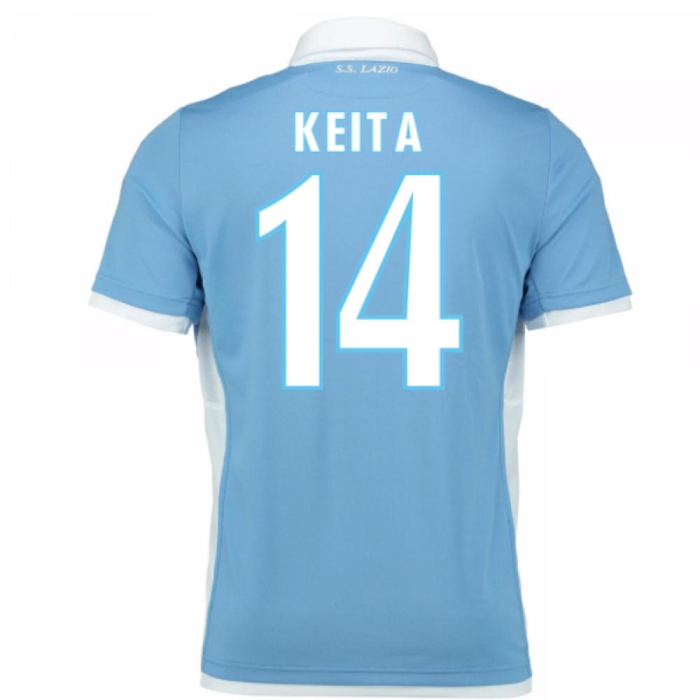 2016-17 Lazio Home Shirt (Keita 14) - Kids