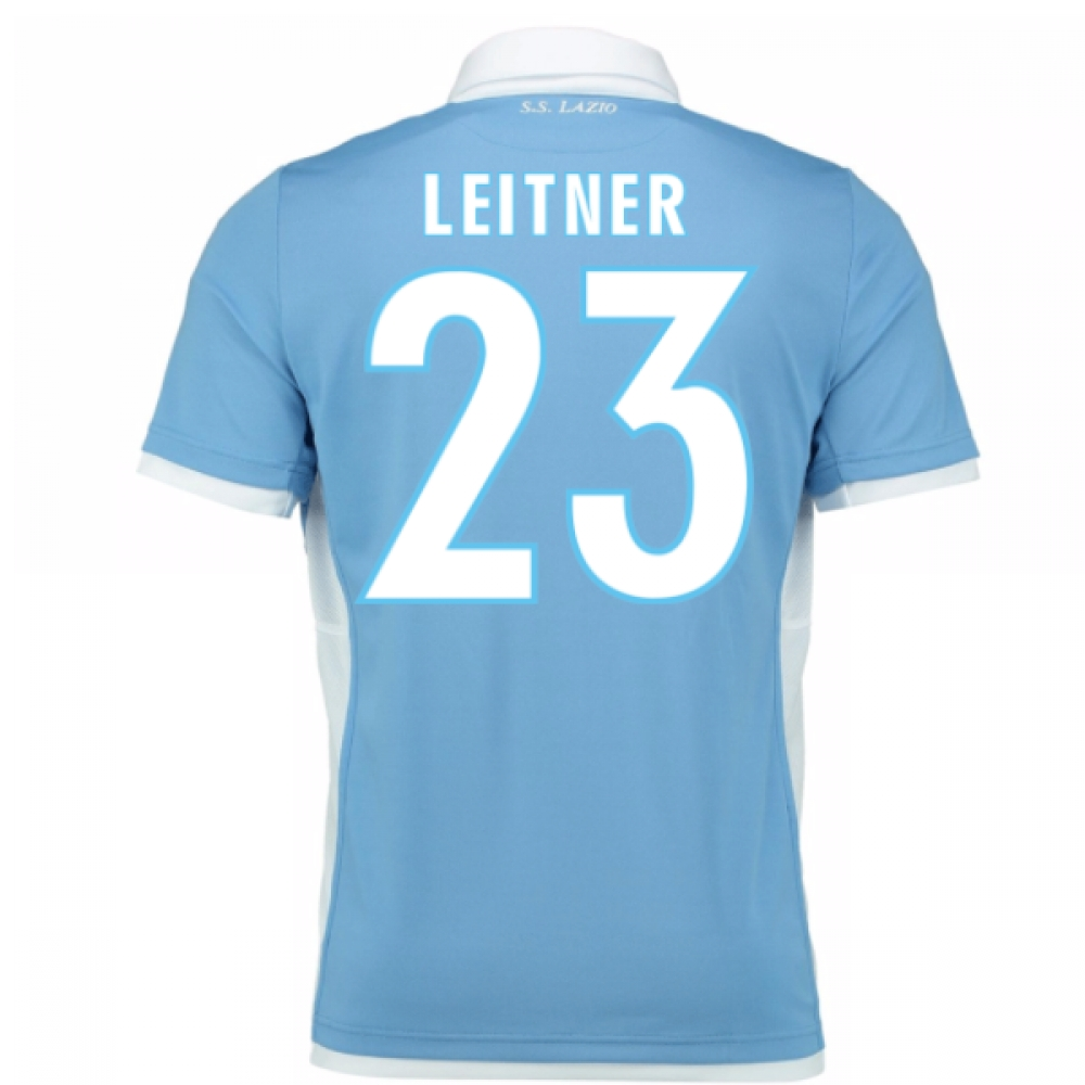 2016-17 Lazio Home Shirt (Leitner 23) - Kids