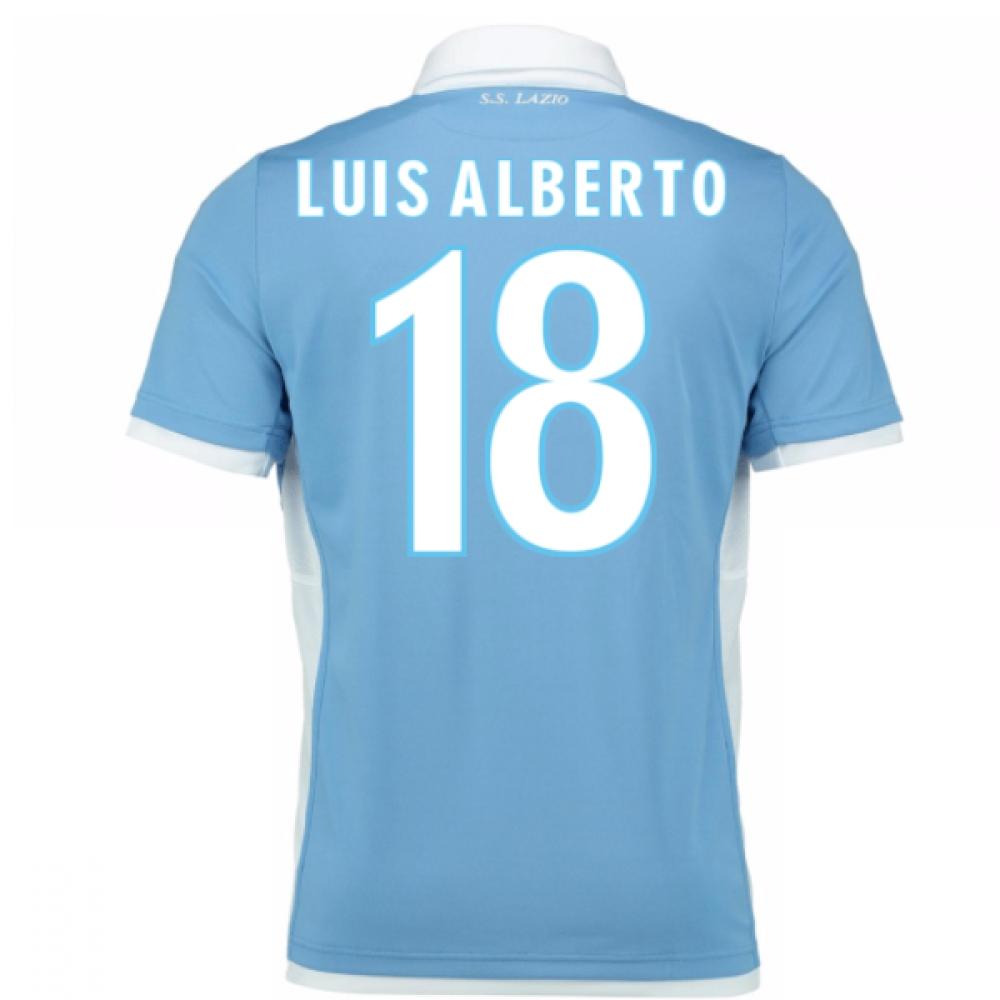 2016-17 Lazio Home Shirt (Luis Alberto 18) - Kids