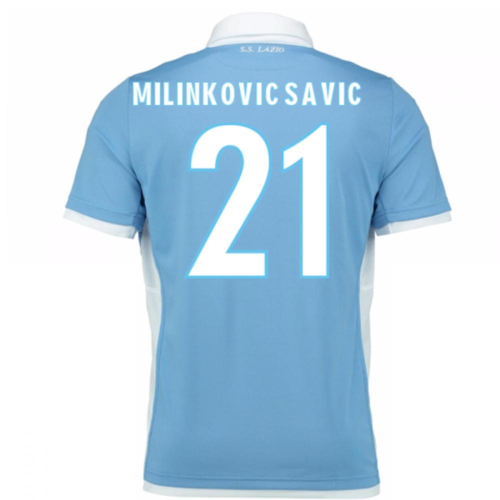 2016-17 Lazio Home Shirt (Milinkovic-Savic 21) - Kids