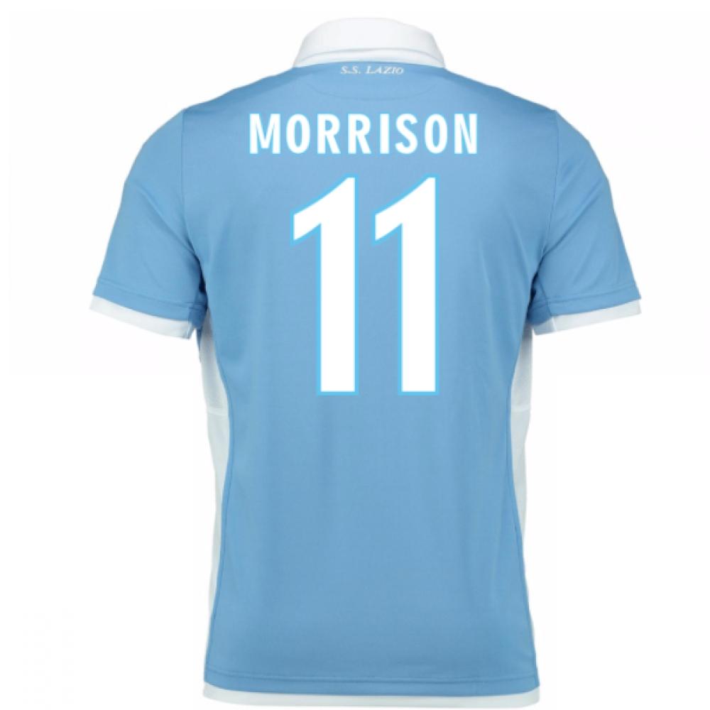 2016-17 Lazio Home Shirt (Morrison 11) - Kids