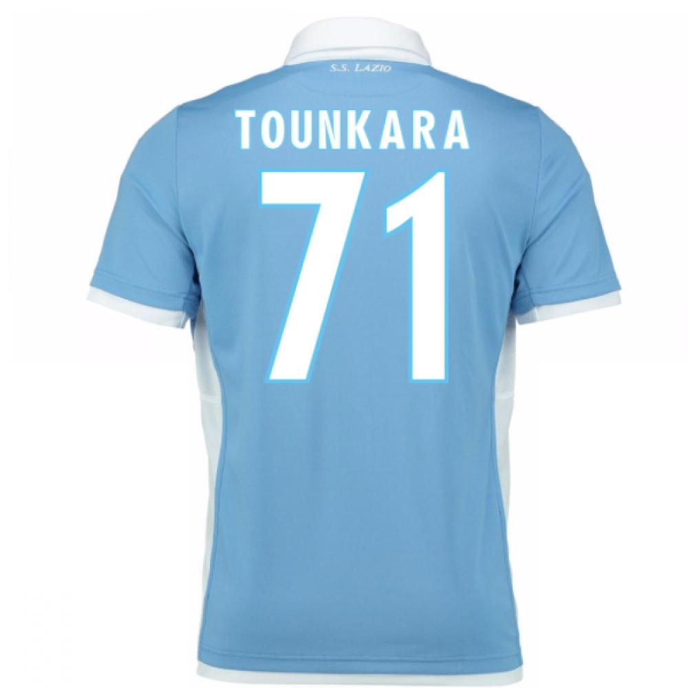 2016-17 Lazio Home Shirt (Tounkara 71) - Kids