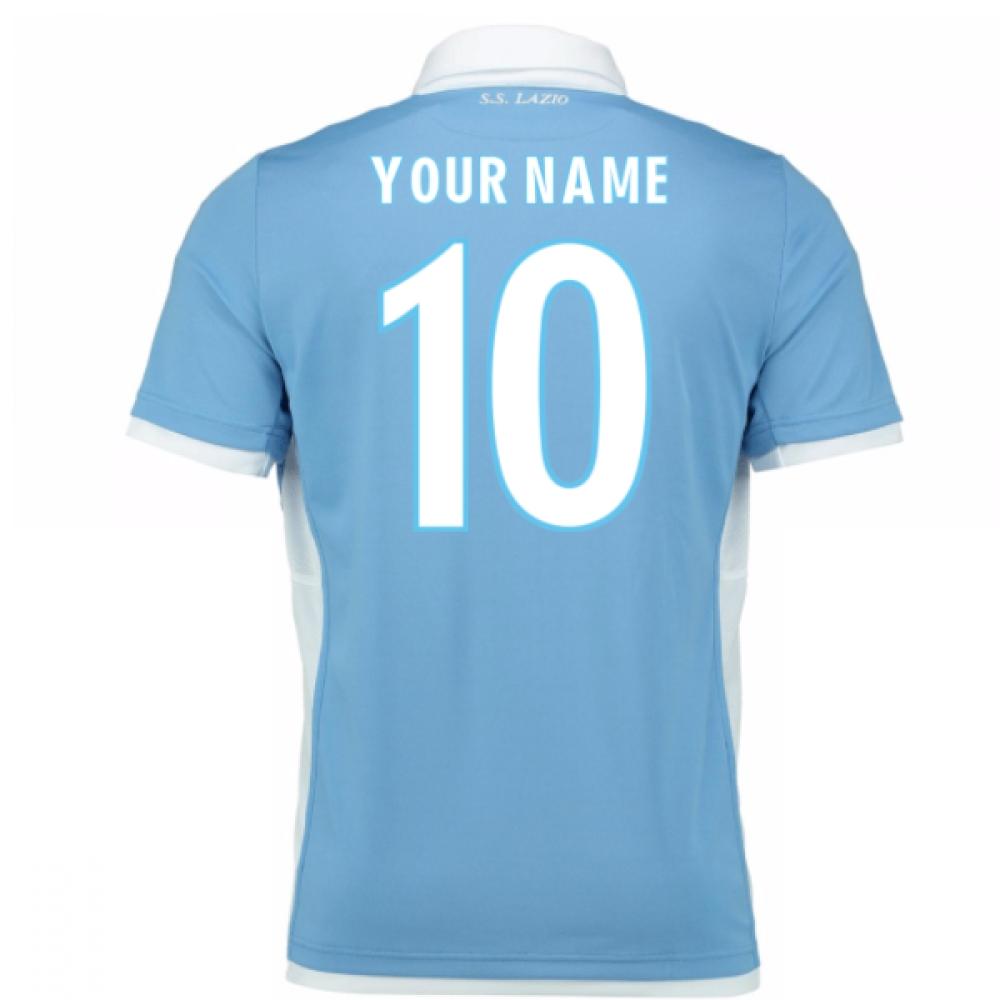 2016-17 Lazio Home Shirt (Your Name) -Kids