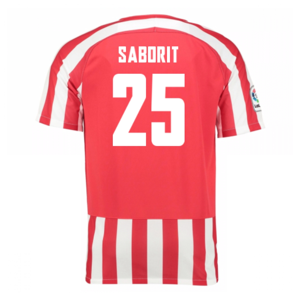 2016-17 Athletic Bilbao Home Shirt (Saborit 25) - Kids