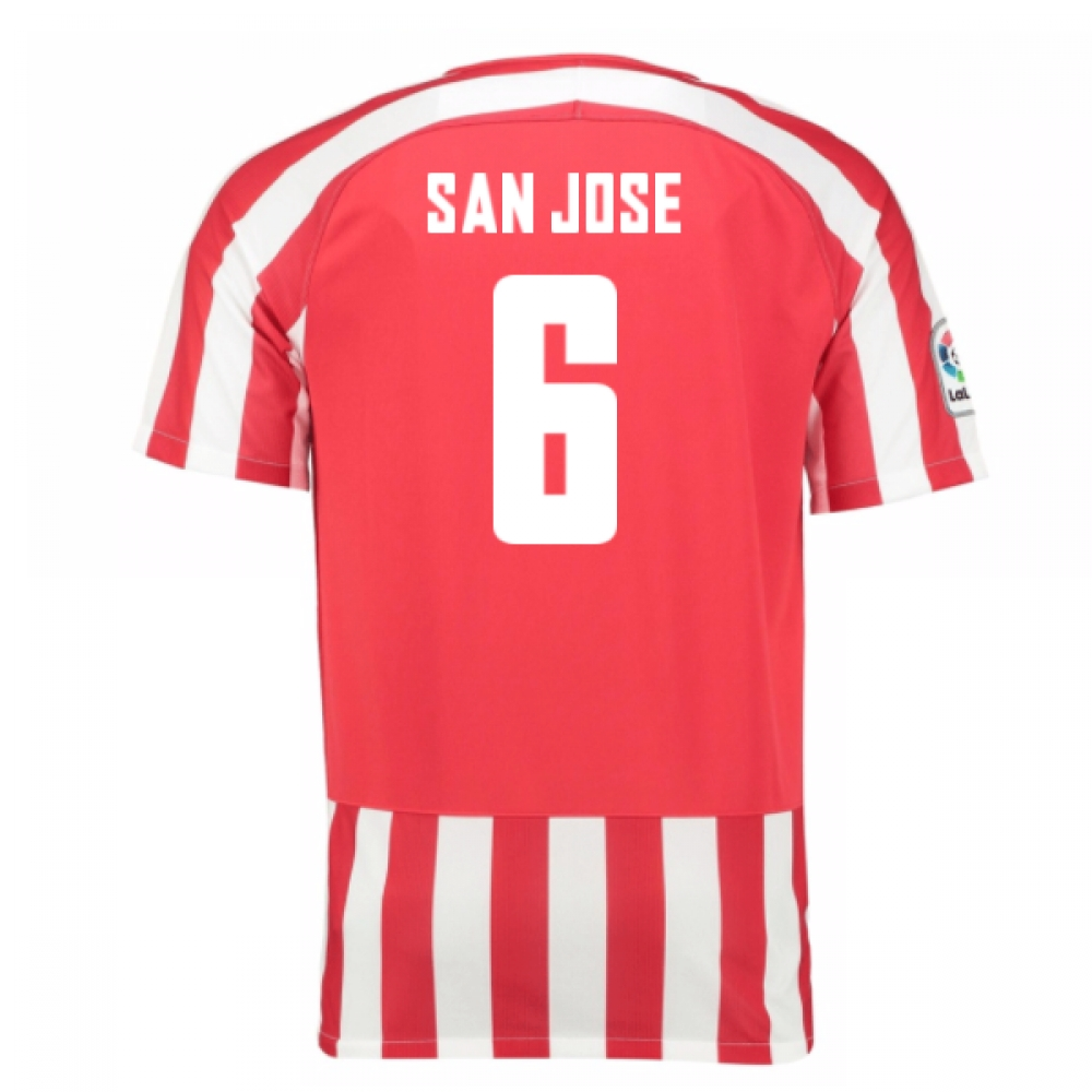 2016-17 Athletic Bilbao Home Shirt (San Jose 6) - Kids