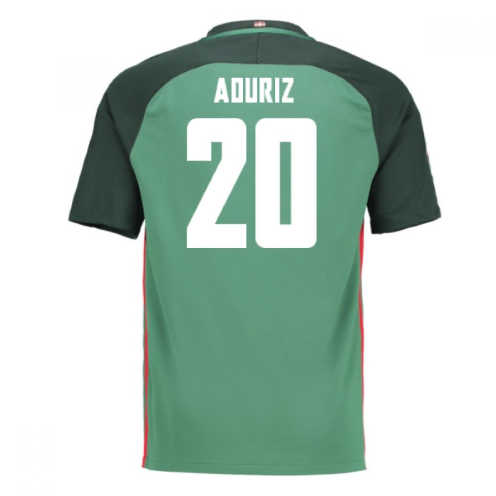 2016-17 Athletic Bilbao Away Shirt (Aduriz 20) - Kids