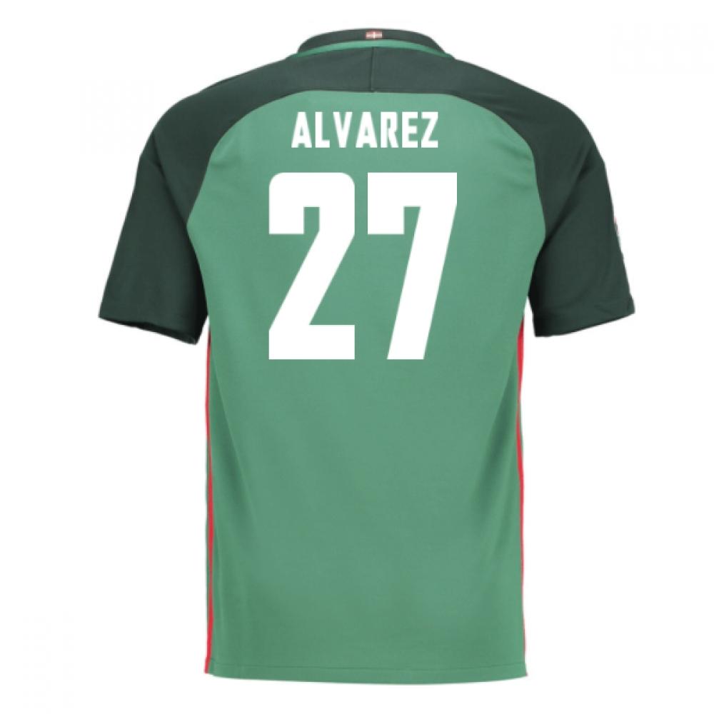 2016-17 Athletic Bilbao Away Shirt (Alvarez 27) - Kids