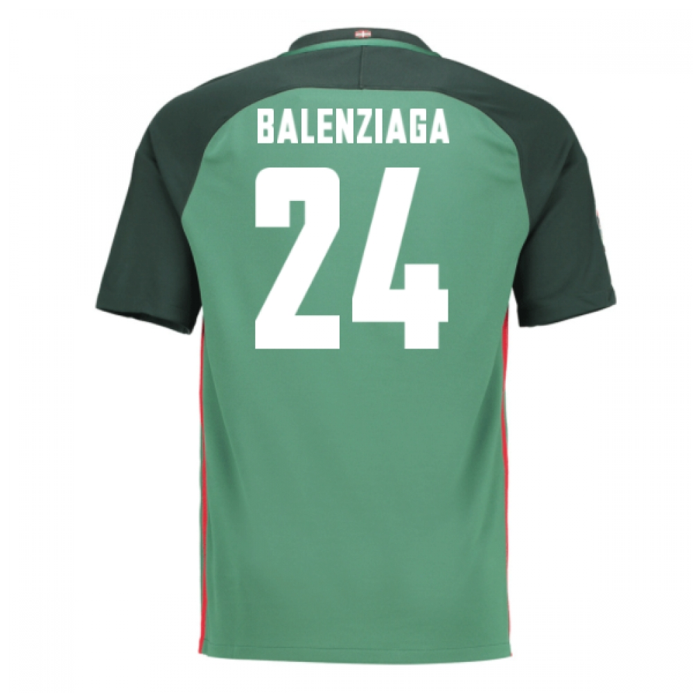 2016-17 Athletic Bilbao Away Shirt (Balenziaga 24) - Kids