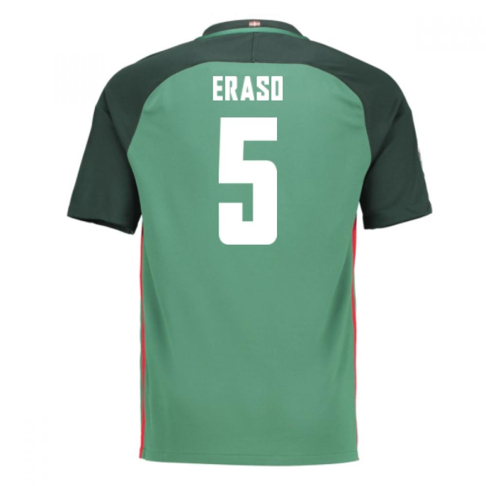 2016-17 Athletic Bilbao Away Shirt (Eraso 5) - Kids