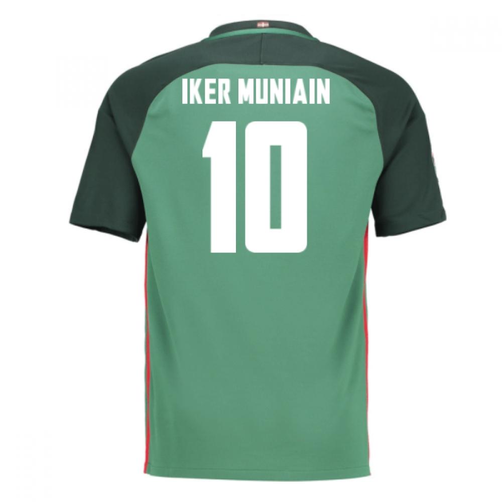 2016-17 Athletic Bilbao Away Shirt (Iker Muniain 10) - Kids