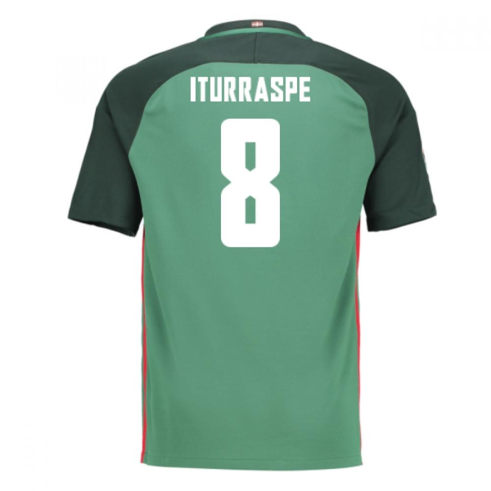 2016-17 Athletic Bilbao Away Shirt (Iturraspe 8) - Kids