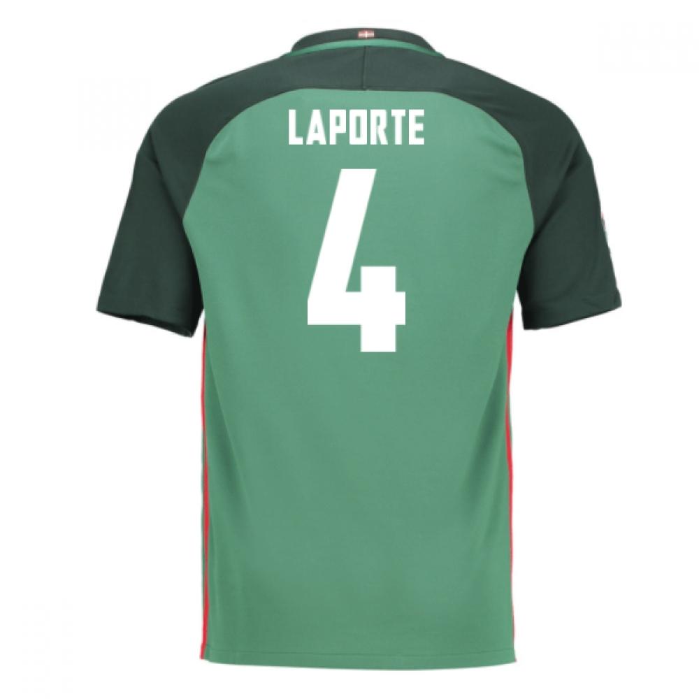 2016-17 Athletic Bilbao Away Shirt (Laporte 4) - Kids