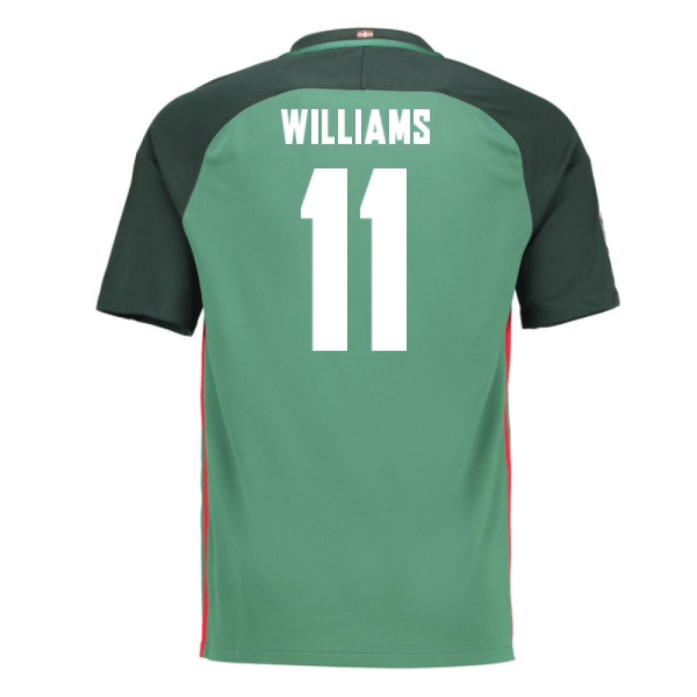 2016-17 Athletic Bilbao Away Shirt (Williams 11) - Kids