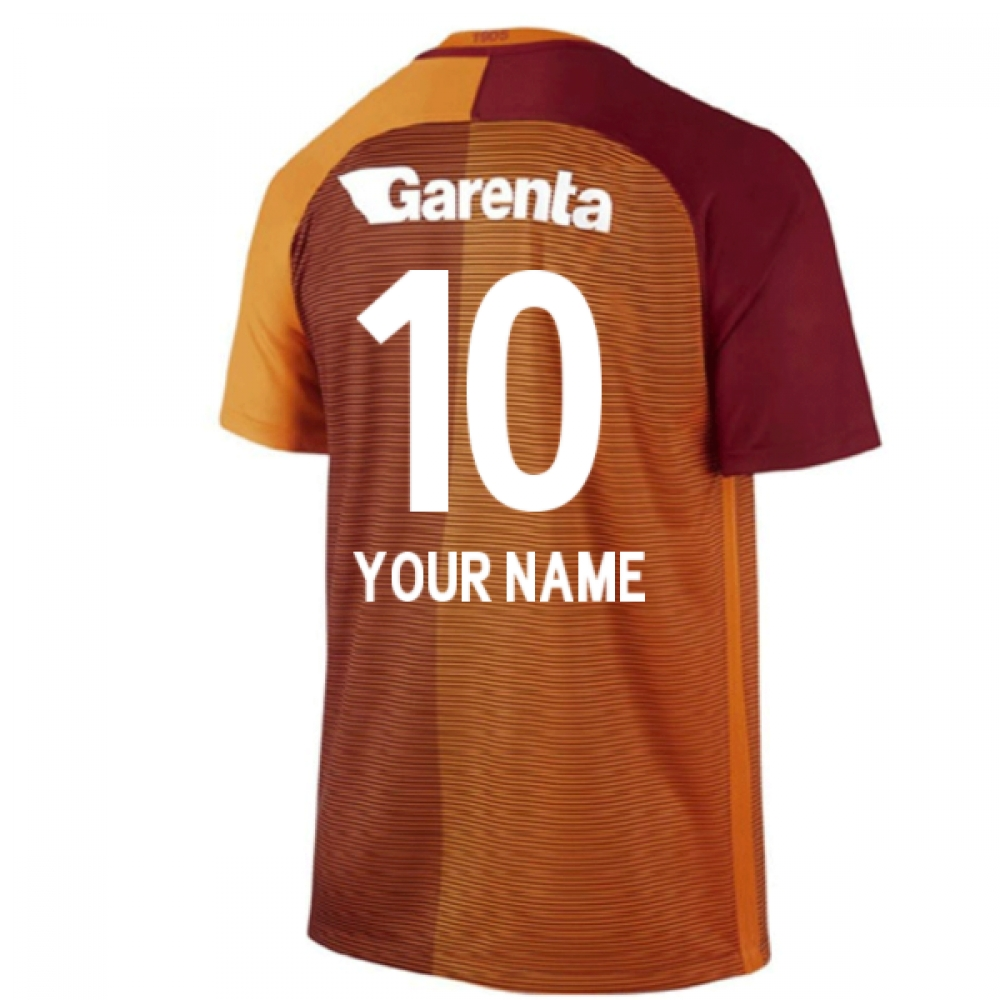 2016-17 Galatasaray Home Shirt (Your Name) -Kids