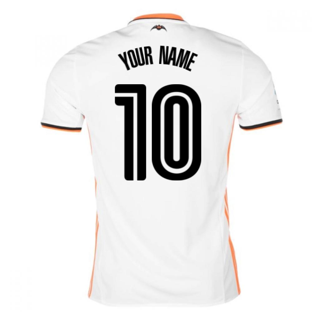 2016-17 Valencia Home Shirt (Your Name)