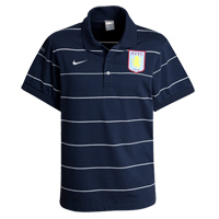 08-09 Aston Villa Polo Shirt (Navy)