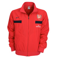0810 Arsenal Woven Warmup Jacket (red)