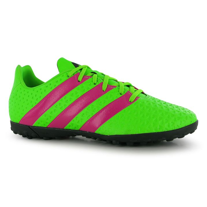 Adidas Ace 16.4 Mens Astro Turf Trainers (SolarGreen)
