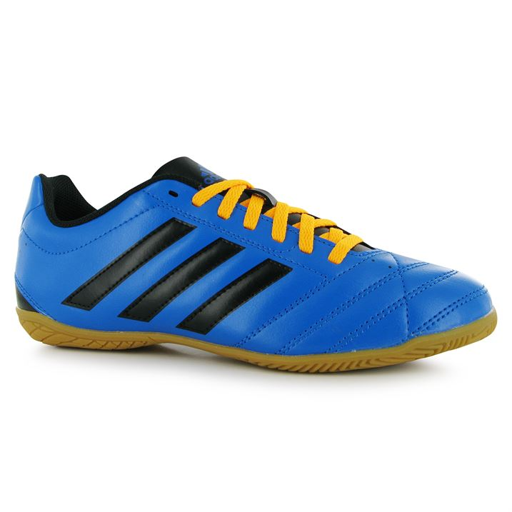 adidas Goletto Mens Indoor Football Trainers (Shock BlueBlack)