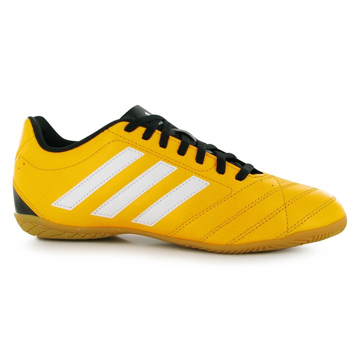 adidas Goletto Mens Indoor Football Trainers (Solar GoldWhite)