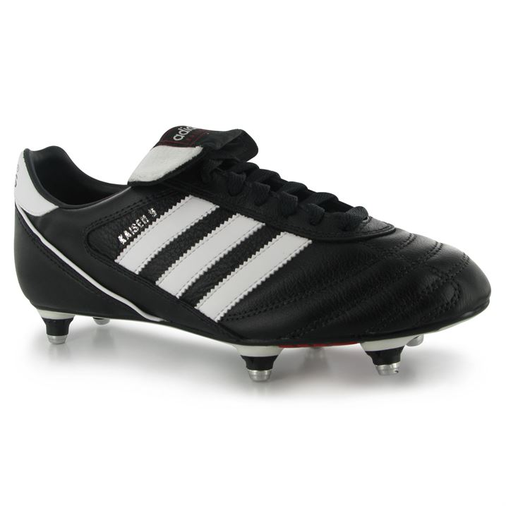 Adidas Kaiser Cup SG Mens Football Boots (BlackWhite)