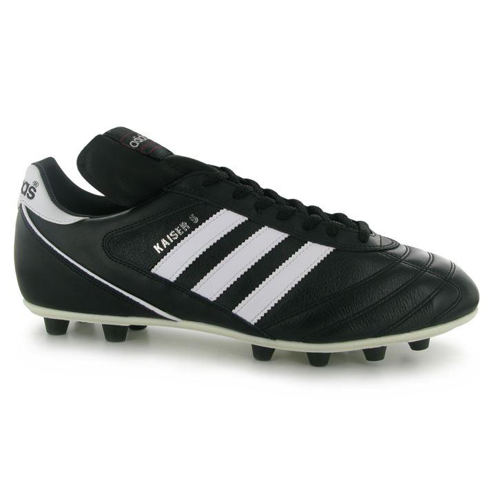 Adidas Kaiser Liga FG Mens Football Boots (BlackWhite)