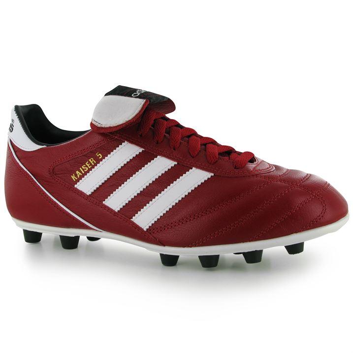 Adidas Kaiser Liga FG Mens Football Boots (RedWhite)