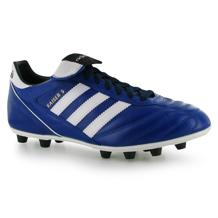 Adidas Kaiser Liga FG Mens Football Boots (RoyalWhite)
