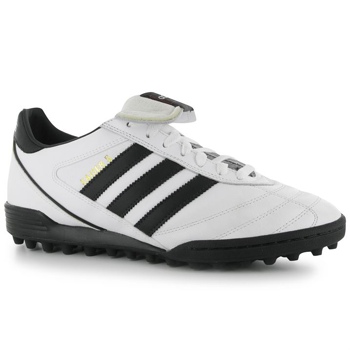 Adidas Kaiser Team Mens Astro Turf Trainers (WhiteBlack)