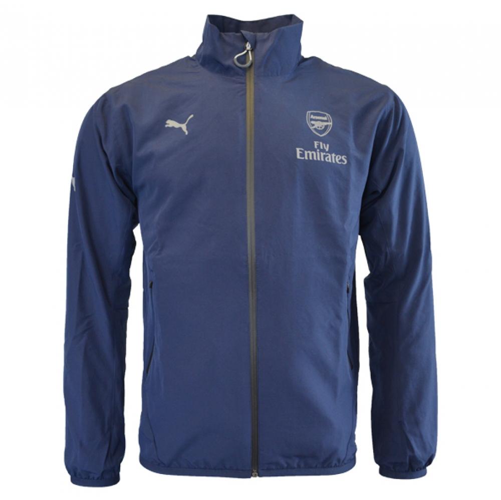 20152016 Arsenal Puma Casuals Woven Jacket (Navy)