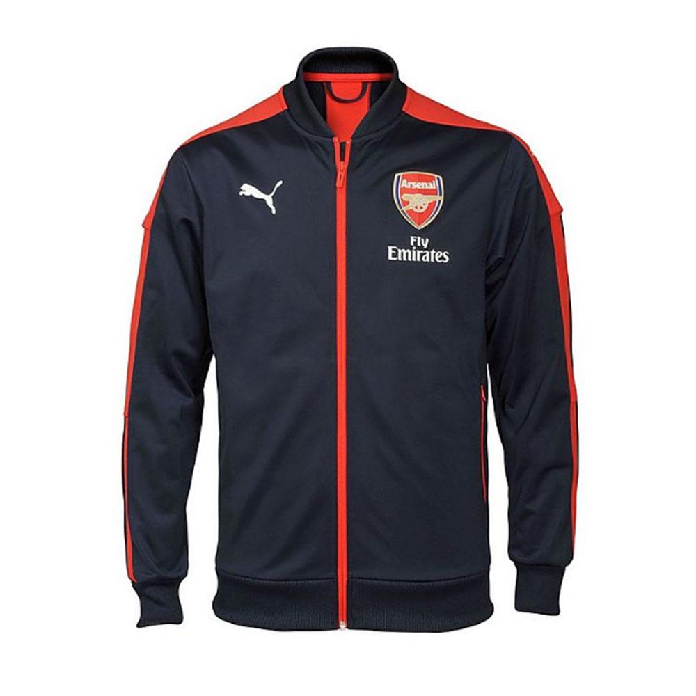 20162017 Arsenal Puma Stadium Jacket (PeacotRed)