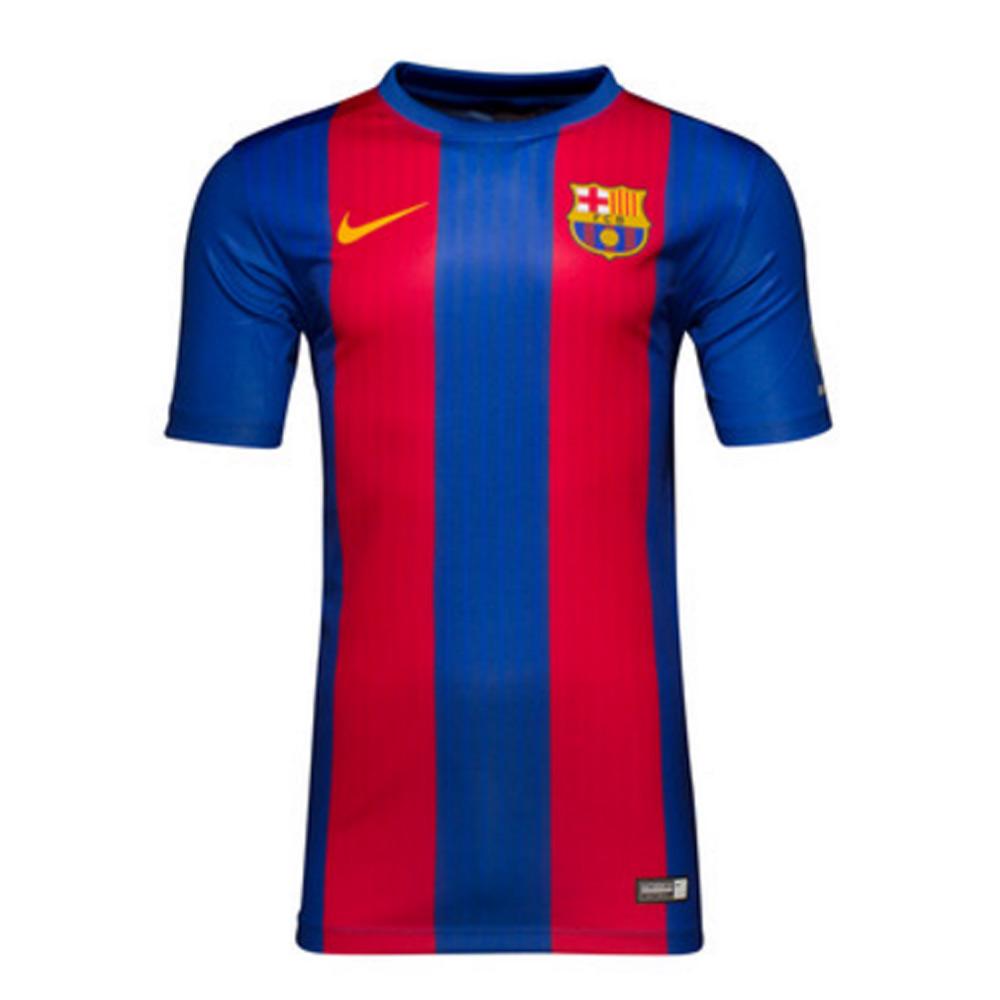 2016-2017 Barcelona Home Nike Supporters Tee (Kids)
