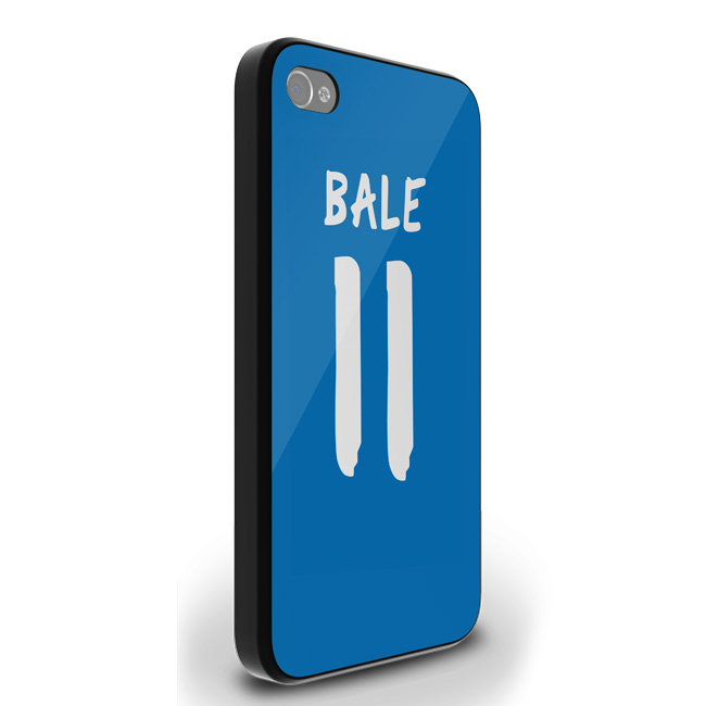 Gareth Bale Real Madrid iPhone 4 Cover (Blue-Black)