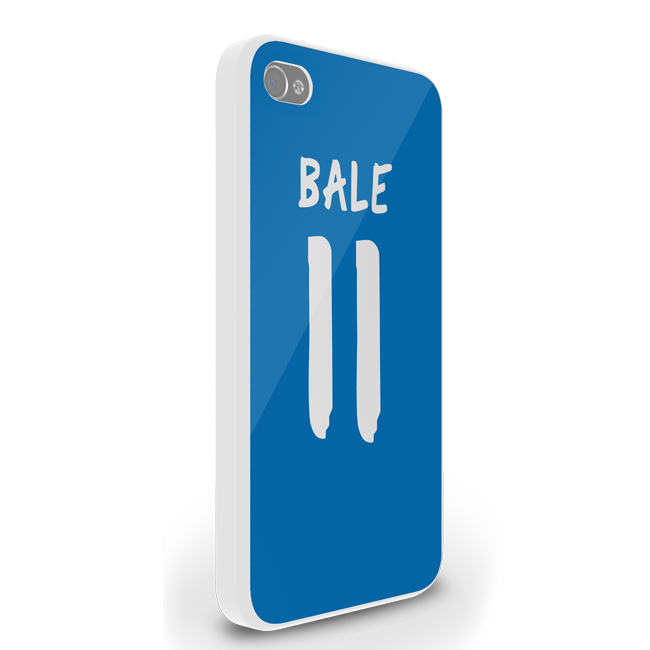 Gareth Bale Real Madrid iPhone 4 Cover (Blue-White)