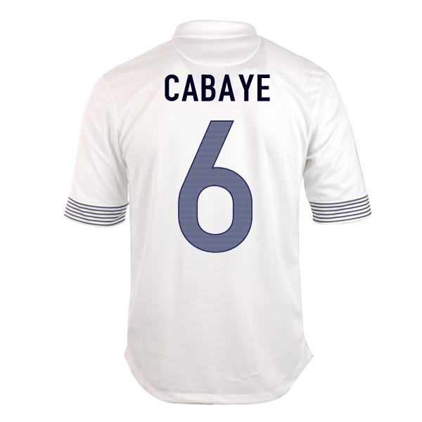 2012-13 France Euro 2012 Away (Cabaye 6)