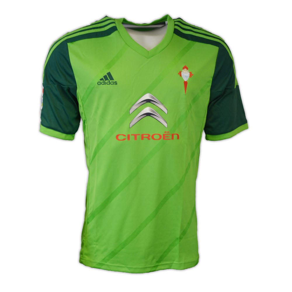 20142015 Celta Vigo Adidas Away Football Shirt