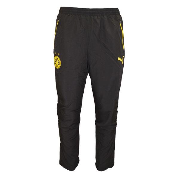 2015-2016 Borussia Dortmund Puma Leisure Pants (Black)