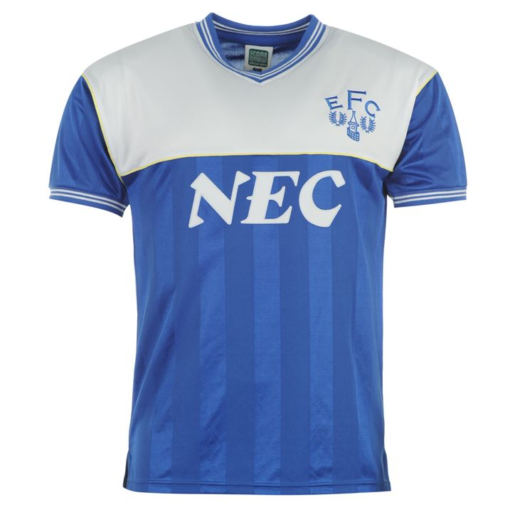 Score Draw Everton 1986 Home Shirt