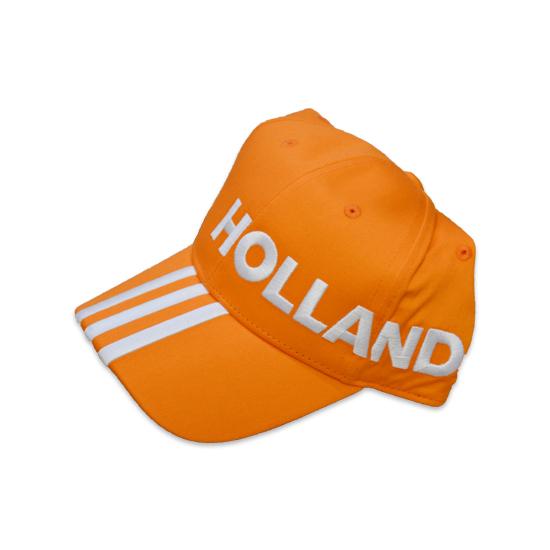 20162017 Holland Adidas 3S Cap (Orange)