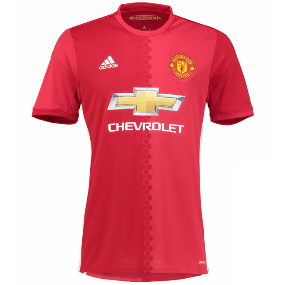20162017 Man Utd Adidas Home Football Shirt
