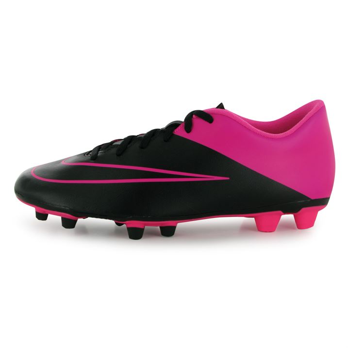 pink nike boots