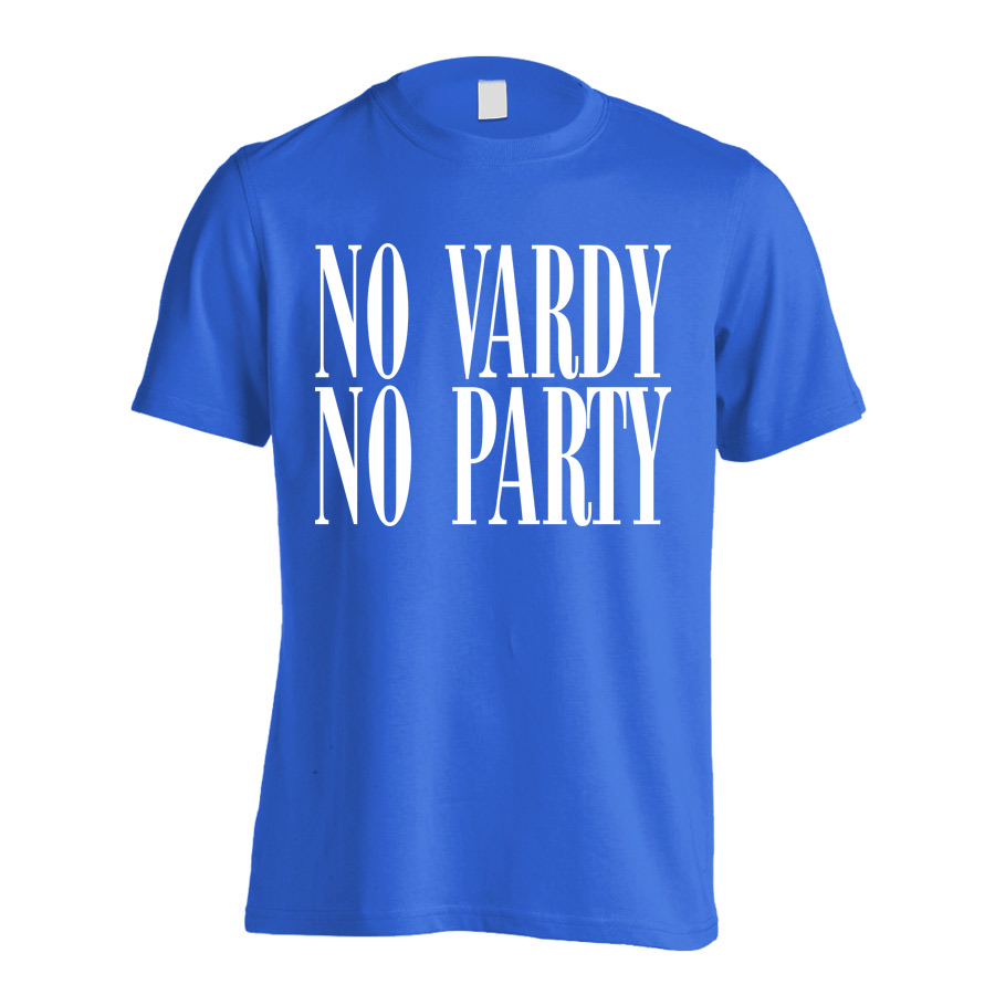 Leicester No Vardy No Party T-Shirt (Blue) - Kids