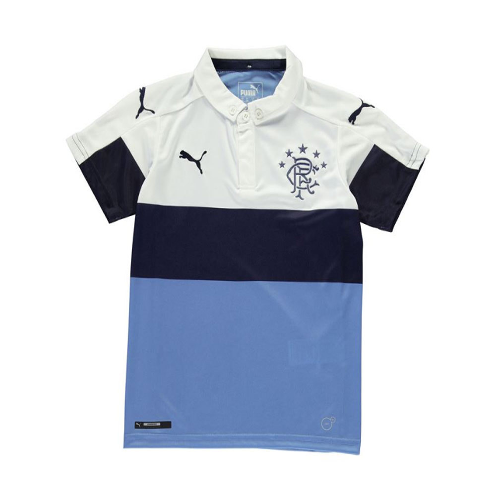 20162017 Rangers Puma Third Football Shirt (Kids)