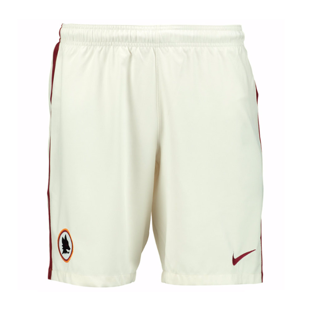 2016-2017 AS Roma Nike Away Shorts (White)