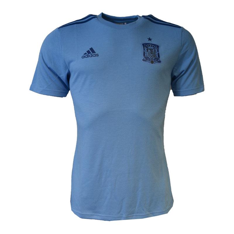 2016-2017 Spain Home Adidas Fan Goalkeeper Shirt (Blue)