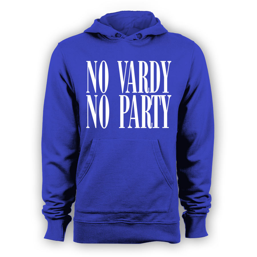 Leicester City No Vardy No Party Hoody (Blue) - Kids