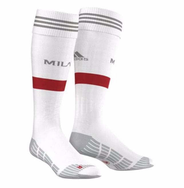 20152016 AC Milan Adidas Away Football Socks
